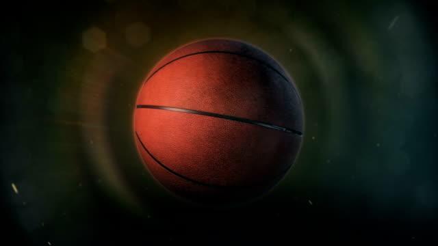 vídeos de stock, filmes e b-roll de basketball in epic lighting - basquete