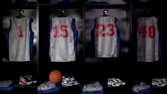 Basketball locker / changing room - DOLLY HD