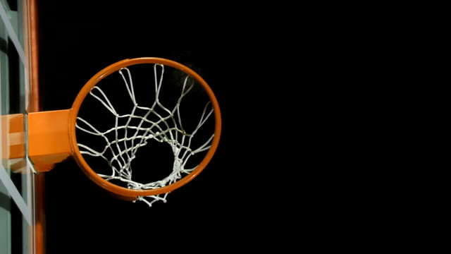 manca il canestro da basket - fallimento video stock e b–roll
