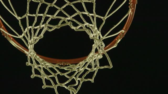 vídeos y material grabado en eventos de stock de basketball net pan - canasta de baloncesto