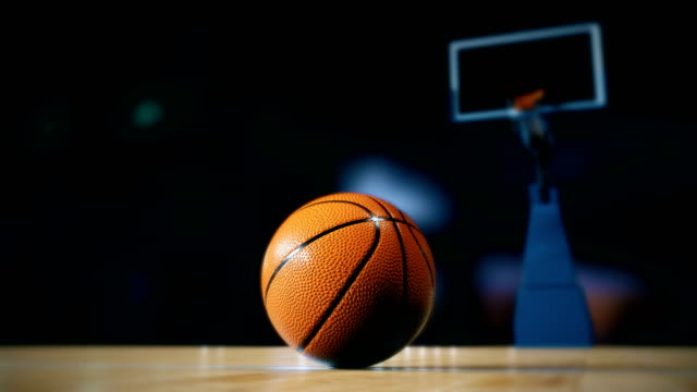 basketball on court - bouncing stock videos & royalty-free footage