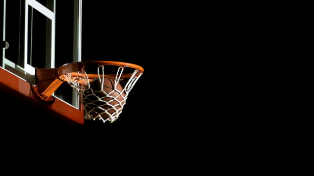 basketball player scoring with a lay up - basket stock videos & royalty-free footage
