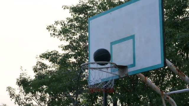 basketball shot , failure - basket stock videos and b-roll footage