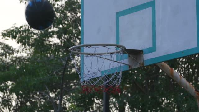 basketball shot , failure - basketball hoop stock videos & royalty-free footage