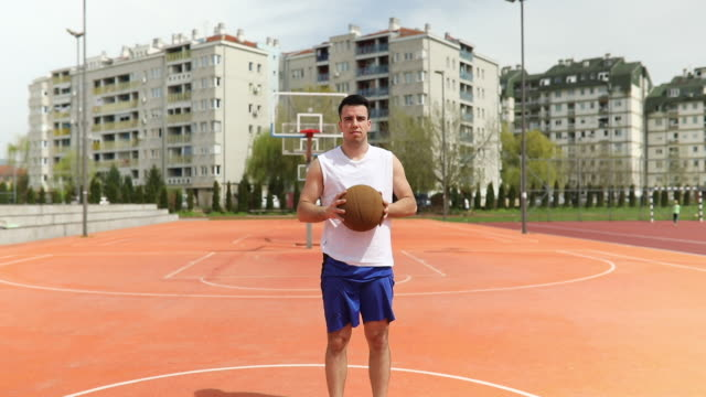 basketball time - standing stock videos & royalty-free footage