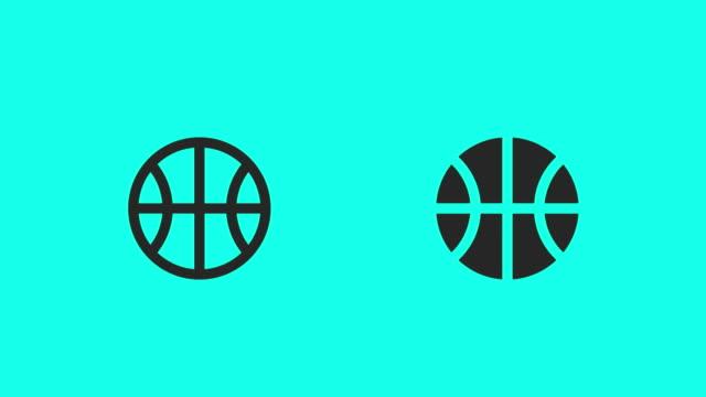 vídeos y material grabado en eventos de stock de baloncesto - vector animado - vector