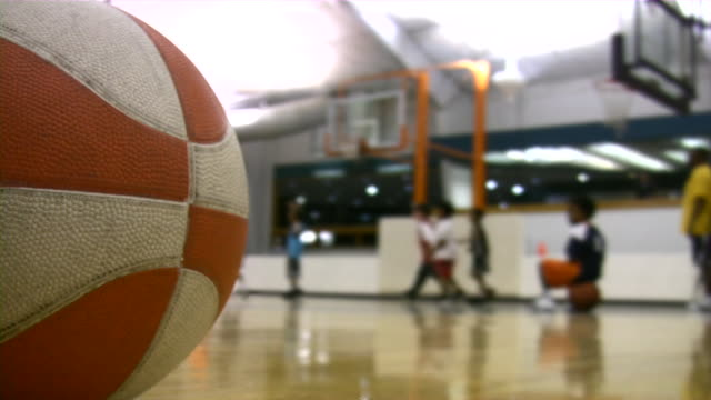 basketball - indoors stock videos & royalty-free footage