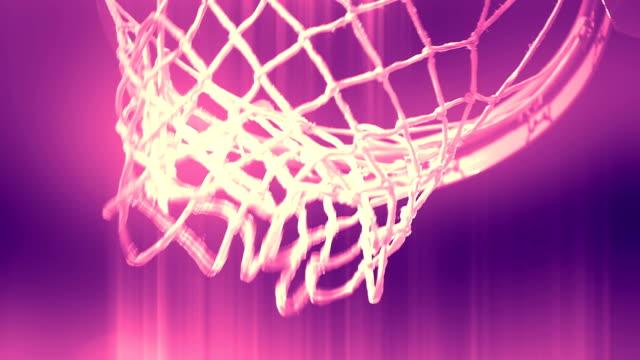 basketball - lila stock-videos und b-roll-filmmaterial