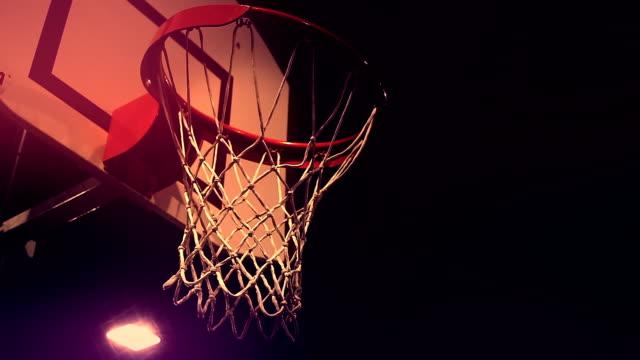 vídeos y material grabado en eventos de stock de de básquetbol - canasta de baloncesto