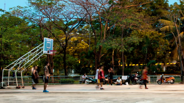 basketball - courtyard stock videos & royalty-free footage