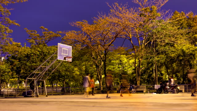 basketball - courtyard stock videos and b-roll footage