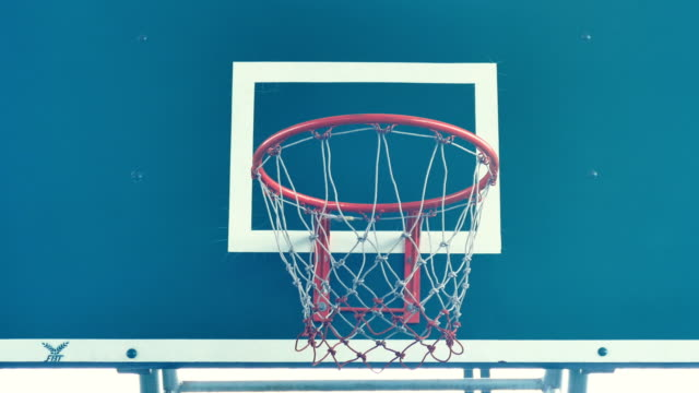 vidéos et rushes de joueur de basket  - panier de basket