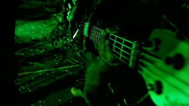 Bass guitar night