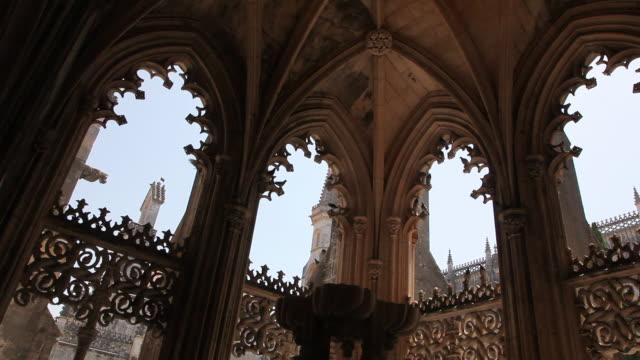 Batalha Monastery (Mosteiro de Santa Maria da Vitoria de Batalha), nymphaeum in the cloister of King Jao I