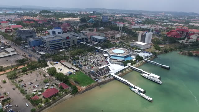Batam Harbour.