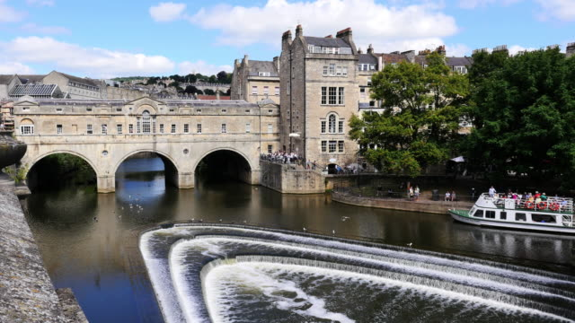 bath city - somerset england stock videos & royalty-free footage