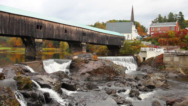 bath, new hampshire - new hampshire stock videos & royalty-free footage