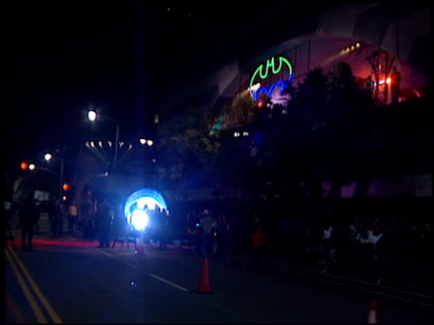 BatmobileBat signal at the 'Batman Foreve'r Premiere on June 9 1995
