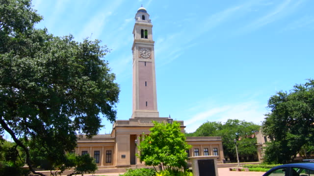 Baton Rouge Louisiana LSU Louisiana State University famous Memorial Tower at LSU