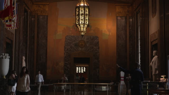 wgno baton rouge louisiana us louisiana state capitol interoir on wednesday may 17 2017 - state capitol building stock videos & royalty-free footage