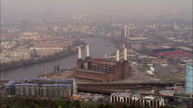 battersea power station - バタシー発電所点の映像素材/bロール