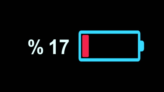 battery loading animation 4k - electrical component stock videos & royalty-free footage