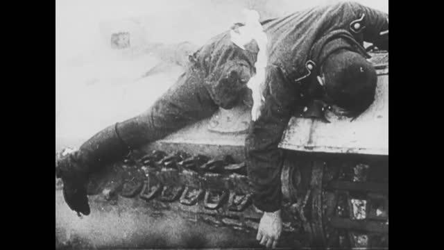 battle of odessa/ battle of sevastopol/ german broken tanks and dead soldiers - ukraine stock videos & royalty-free footage