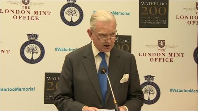 memorial unveiled man speaking sot / peter snow speech sot - peter snow stock videos & royalty-free footage