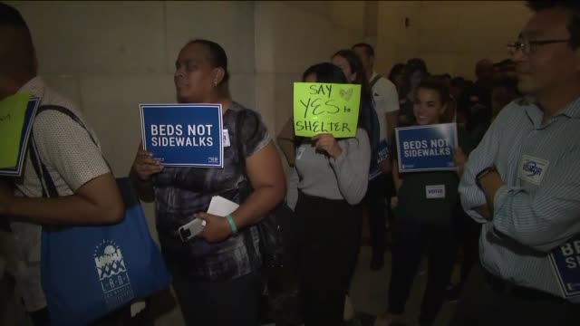 KTLA Battle over Koreatown shelter continues with supporters step up A plan to build a shelter for the homeless in Koreatown has drawn the support of...