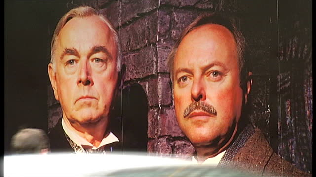 battle to save sir arthur conan doyle's former home england london ext theatre signs for 'the secret of sherlock holmes' stage production - sherlock holmes stock videos & royalty-free footage
