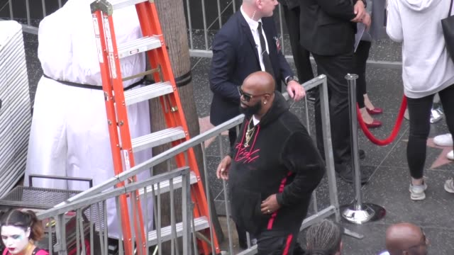 battlecat attends snoop dogg's star ceremony on the hollywood walk of fame in hollywood in celebrity sightings in los angeles, - walk of fame stock videos & royalty-free footage