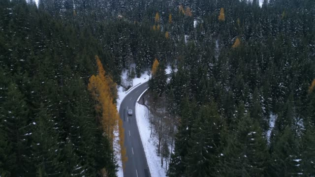 bavaria alps during winter - bavarian alps stock videos & royalty-free footage