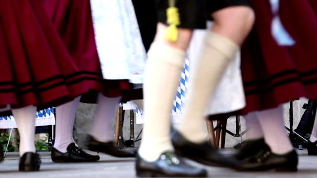 バイエルンミュンヘンの民族舞踊