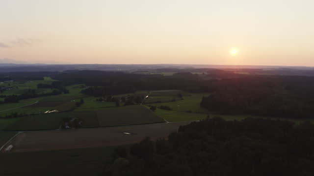 stockvideo's en b-roll-footage met bavarian landscape in summer - sunny