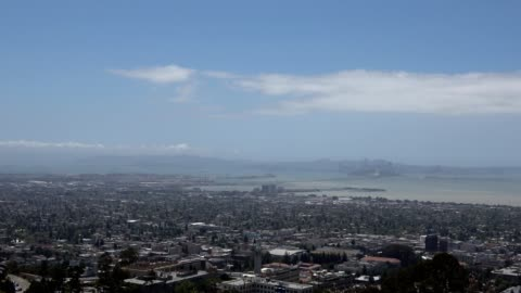 bay area aerial - smith tower stock-videos und b-roll-filmmaterial