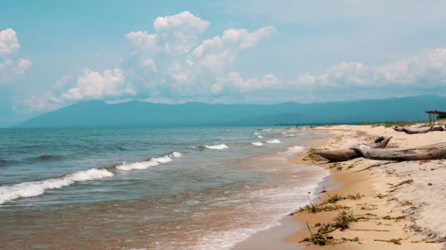 bay at lake malawi, africa - malawi stock videos & royalty-free footage
