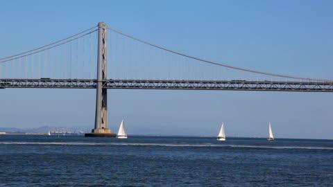 bay bridge - hängbro bildbanksvideor och videomaterial från bakom kulisserna