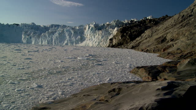 bay full of ice - greenland stock videos & royalty-free footage