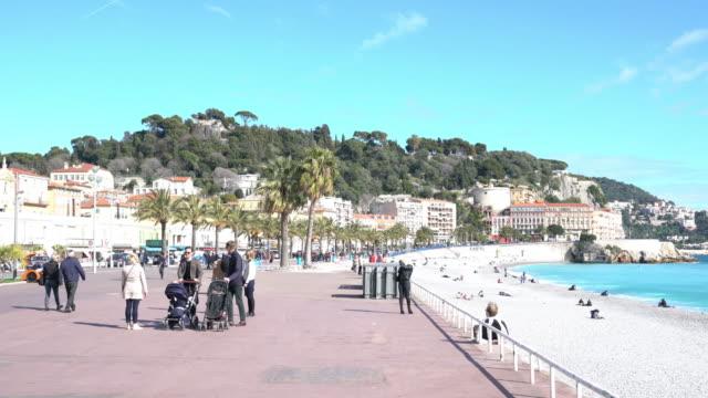 Bucht der Engel in Nizza, Frankreich.