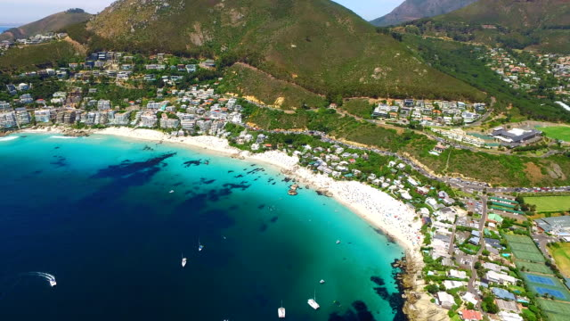 bay of beauty - cape town stock videos & royalty-free footage