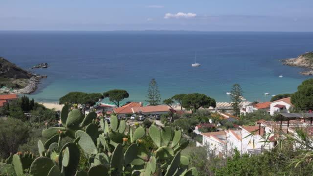 zo / bay of cavoli - island of elba stock videos & royalty-free footage