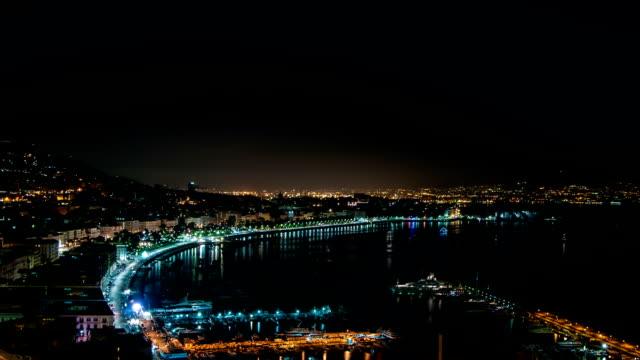ナポリ湾の夜景 - ナポリ点の映像素材/bロール