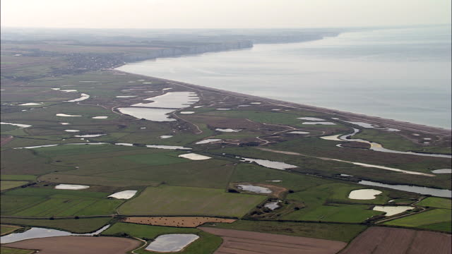 Bay Of Somme  - Aerial View - Picardie, Somme, Arrondissement d'Abbeville, France