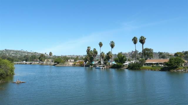 Bay view in San Diego in 4K