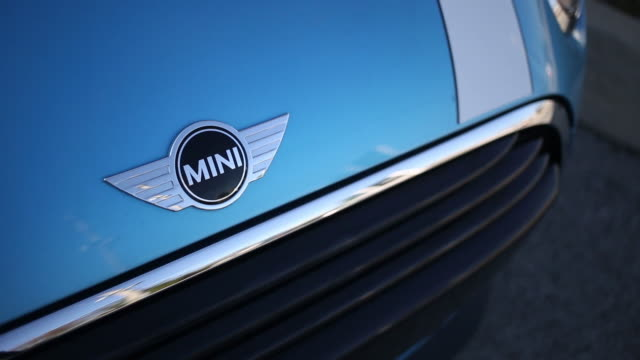 bayerische motoren werke ag mini vehicles are displayed for sale at a mini dealership in louisville kentucky us on wednesday feb 27 2019 - bmw stock videos & royalty-free footage