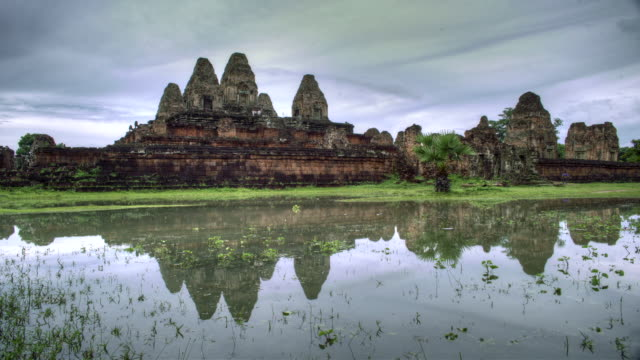 bayon temple - angkor wat stock videos and b-roll footage