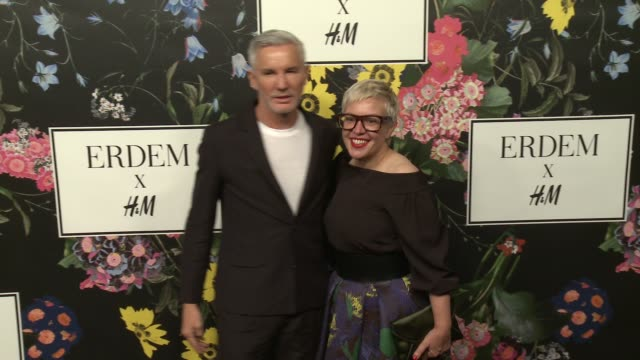 Baz Luhrmann Catherine Martin at HM x ERDEM Runway Show Party at The Ebell Club of Los Angeles on October 18 2017 in Los Angeles California