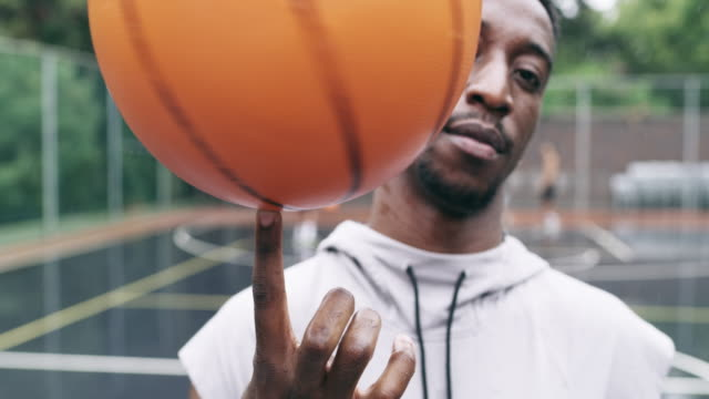 be the boss of the ball - basketball ball stock videos & royalty-free footage