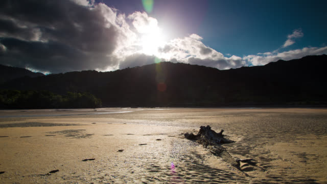 TIME LAPSE: Beach Abel Tasman New Zealand