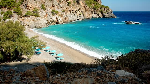 HD: Beach Achata on Karpathos, Greece